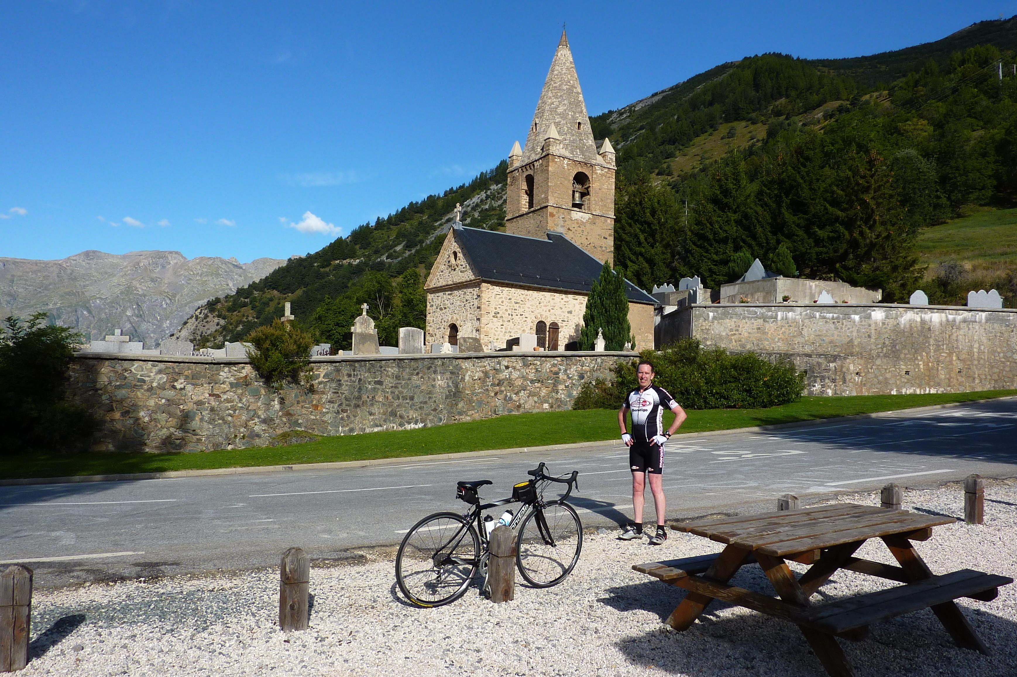 P Pm Riding Up Alpe Dhuez
